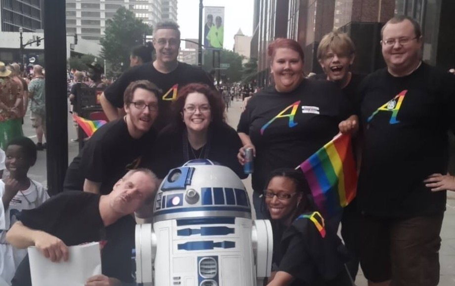 Louisville Atheists & Freethinkers at the Pride Festival